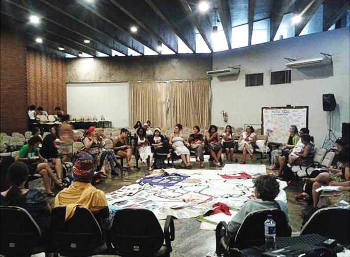 Plenária das mulheres